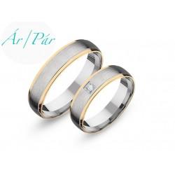 Ezüst vagy arany karikagyűrűk