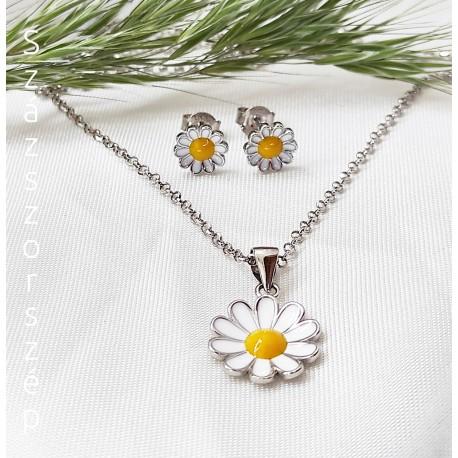 Százszorszép ezüst virág kollekció