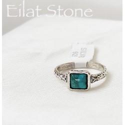 Eilati kő és ezüst gyűrű