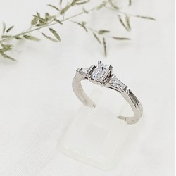 Ezüst Olívia gyűrű 55